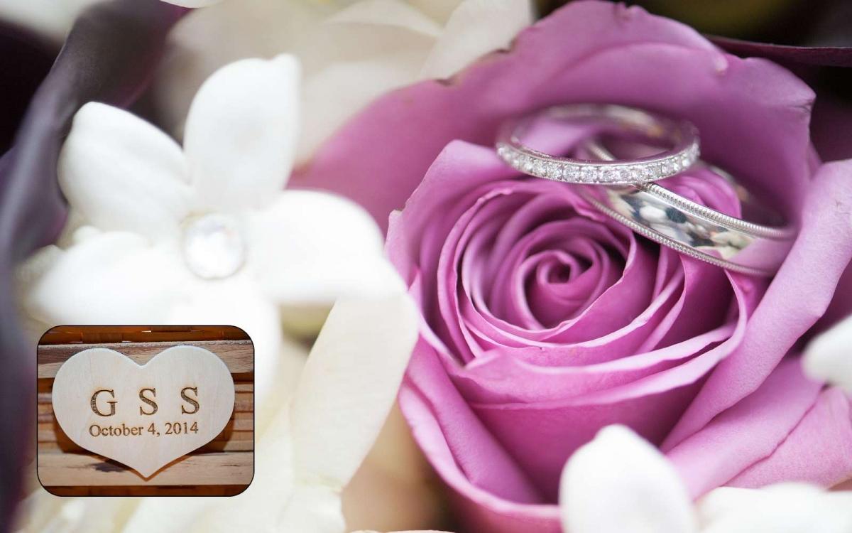 Gina & Scott Custom Wedding Album Design » A Thousand Moments