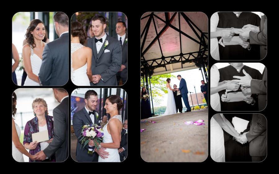 gina scott custom wedding album design a thousand moments